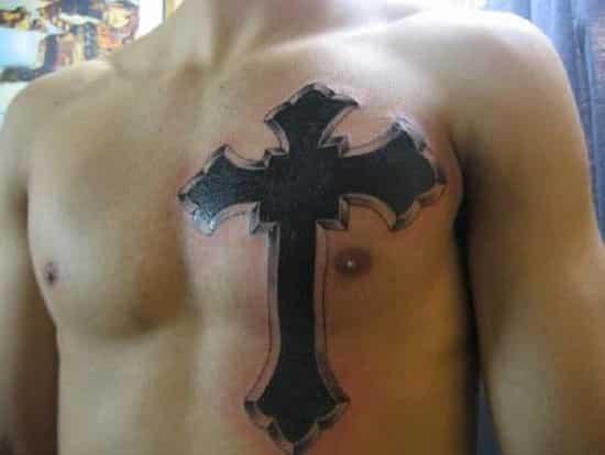 Best Cross Tattoo for Men