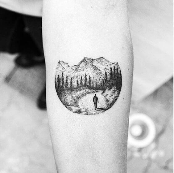 Best Minimalist tattoo image