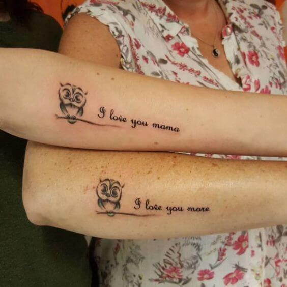 Best tattoo for mother daughter