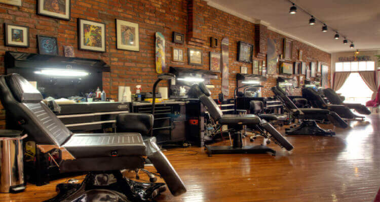 Biggest Tattoo Shops