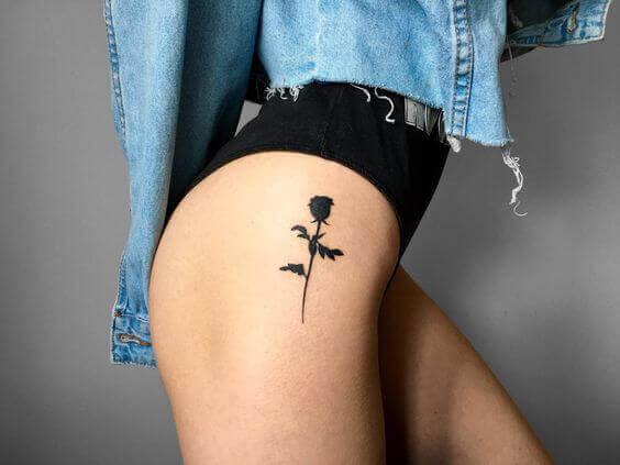 Black rose tattoo meaning