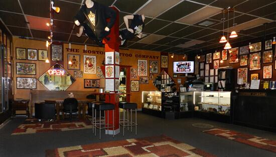 Boston Tattoo Company Shop