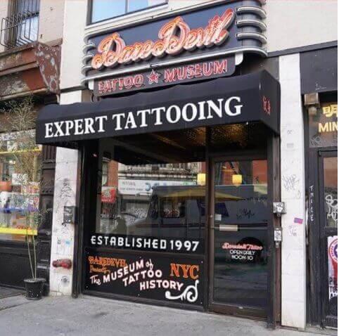 Daredevil Tattoo Shop