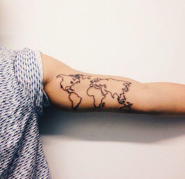 Boys tattoos on arm