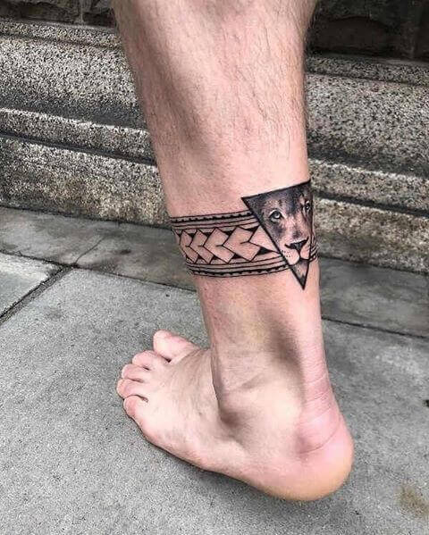 Best Ankle Tattoo Dsigns for guys