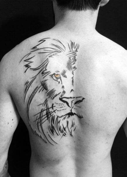 Best Back tattoo ideas for men