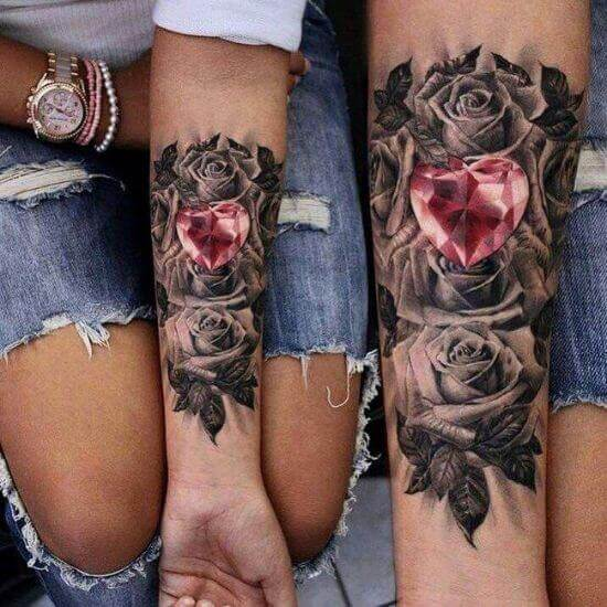 Best Girl Arm Tattoo Designs 2021