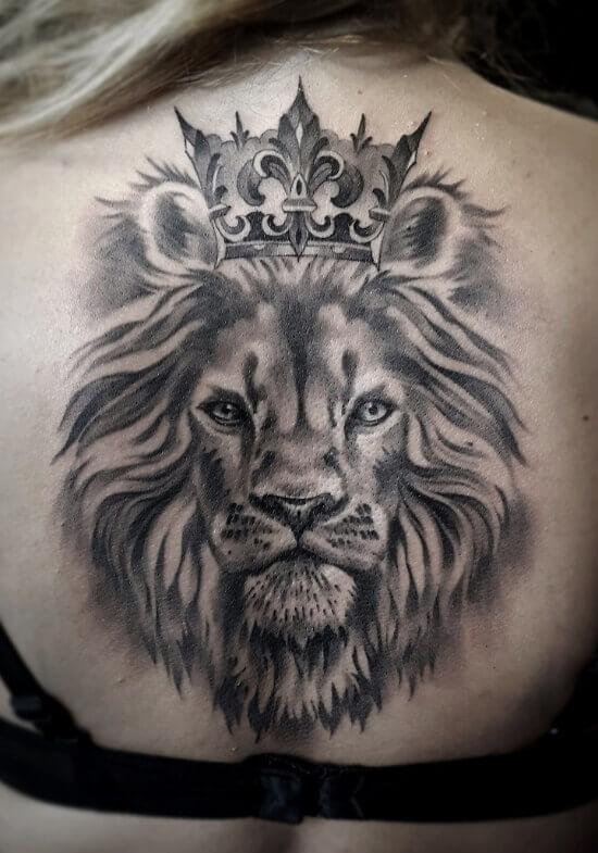 Girl Back Tattoo designs