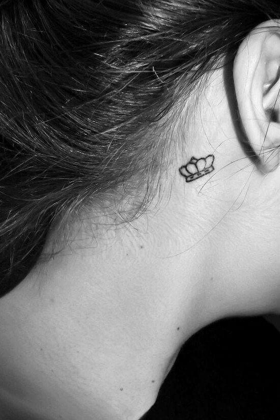 Small Crown tatoo