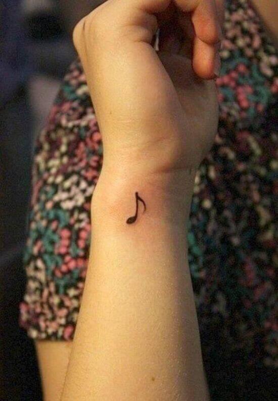 Small Wrist tattoo designs for girls