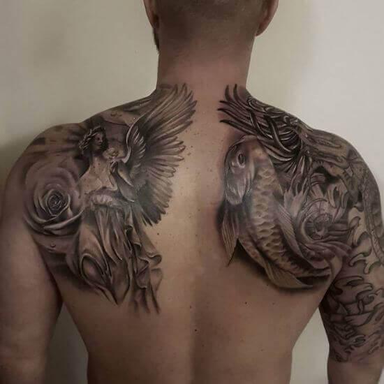 Best Upper Back tattoo for guys
