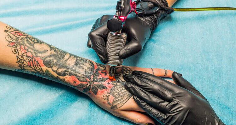 Deep of Tattoo Needle