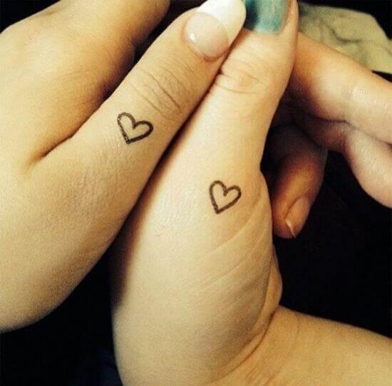 Simple Heart tattoos on Women thumb