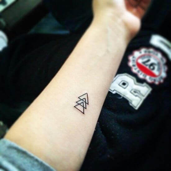 Simple Wrist tattoos designs for women