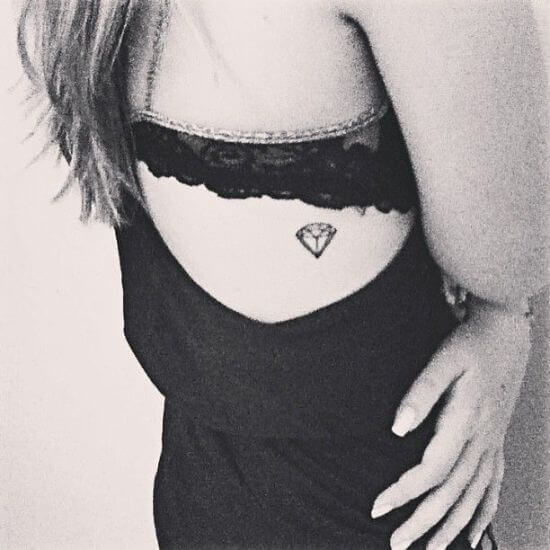 Small Diamond Tattoos