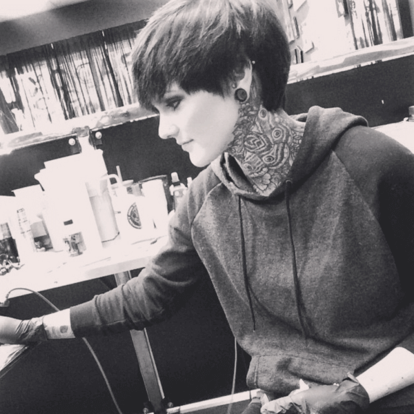 Whitney Havok tattoo artist