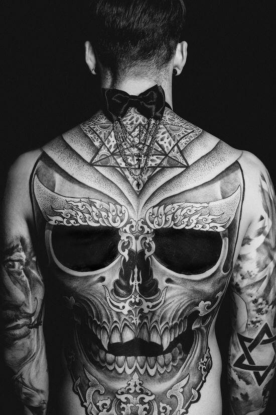 incredible back tattoo designs