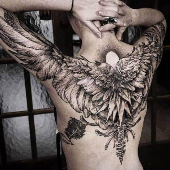 trending Back tattoo designs for men 2021