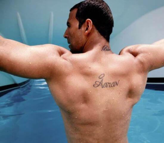 Akshay Kumar's Tattoo