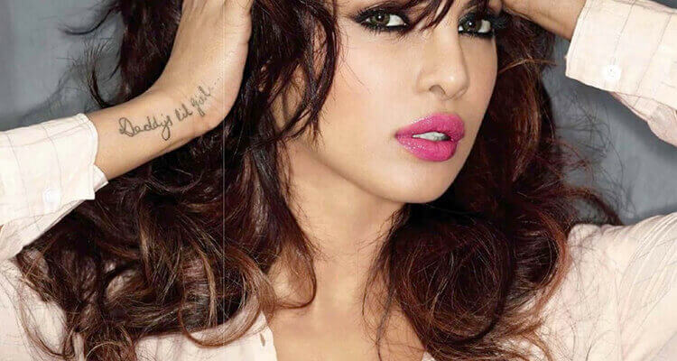 Priyanka Chopra Bollywood Celebrities with Tattoos