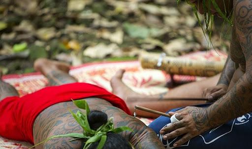 History of Tattoo Art in Polynesia