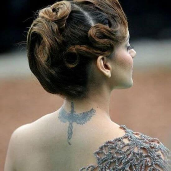 Kangana Ranaut tattoo image