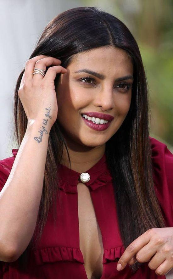 Priyanka Chopra's tattoo