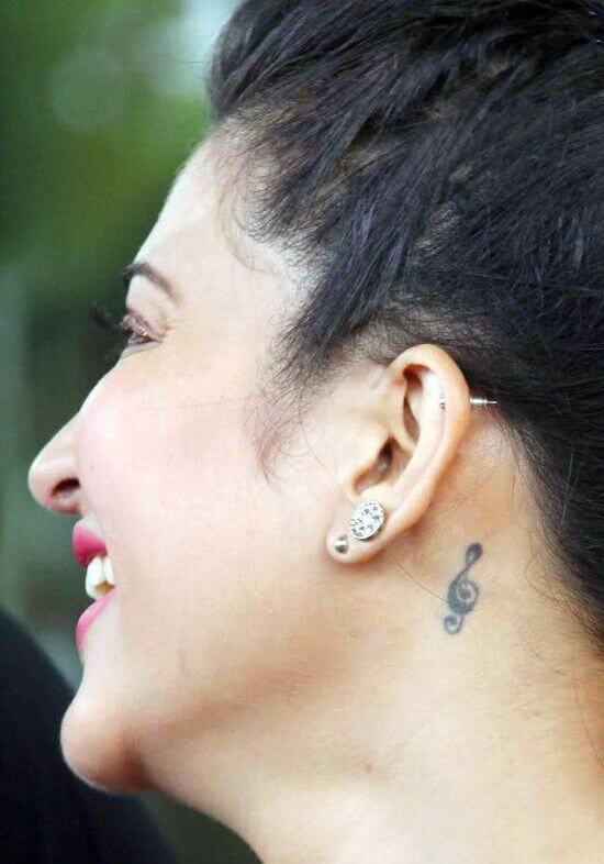 Shruti Hassan's Tattoo