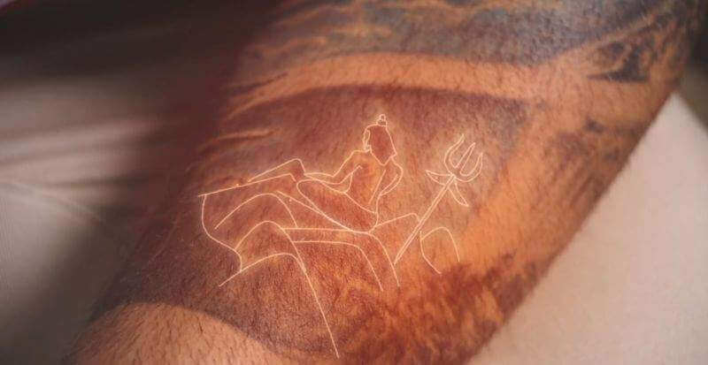 lord shiva tattoo