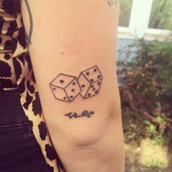 Dice Tattoo pic