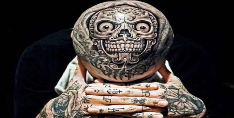 40 Hardcore and Creative Head Tattoo Ideas