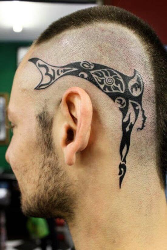 Best Head tribal Tattoo designs for men