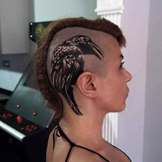 Best head tattooa for girls