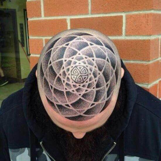Circle Head tattoos designs