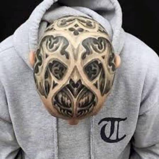 best Head tattoo designs