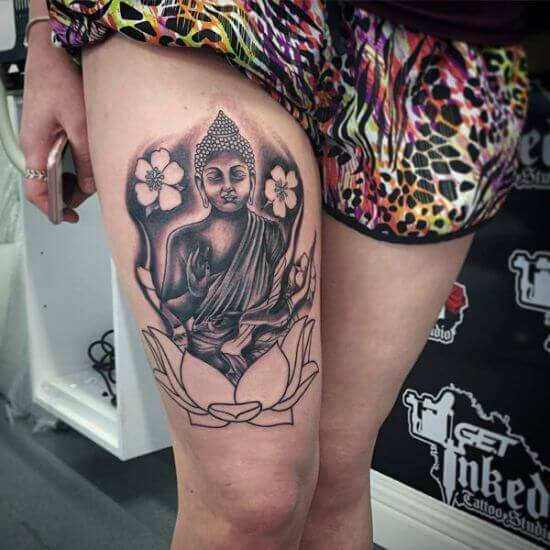 Best Buddha Tattoos for girls
