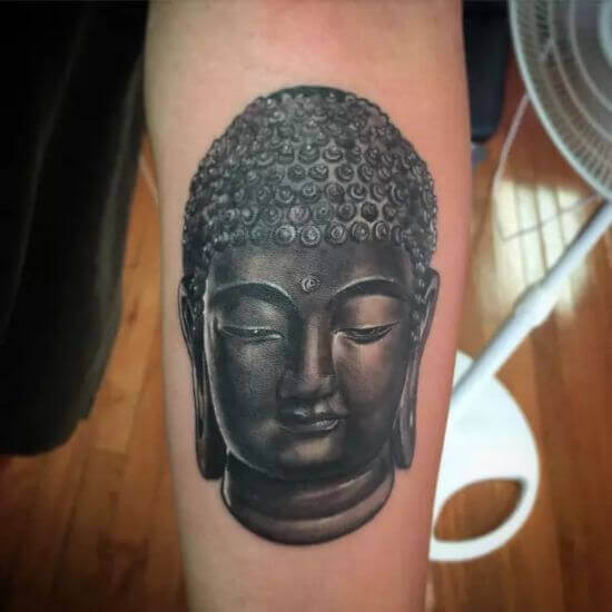 Best face of Buddha tattoo