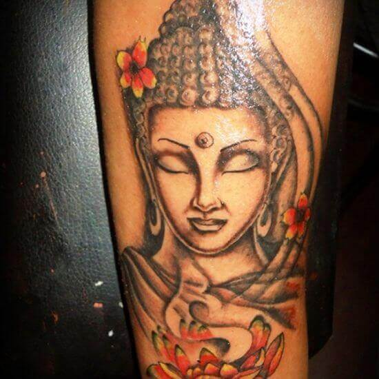 tattoo image of Buddha God