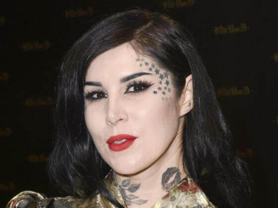 Celebrities Face tattoo