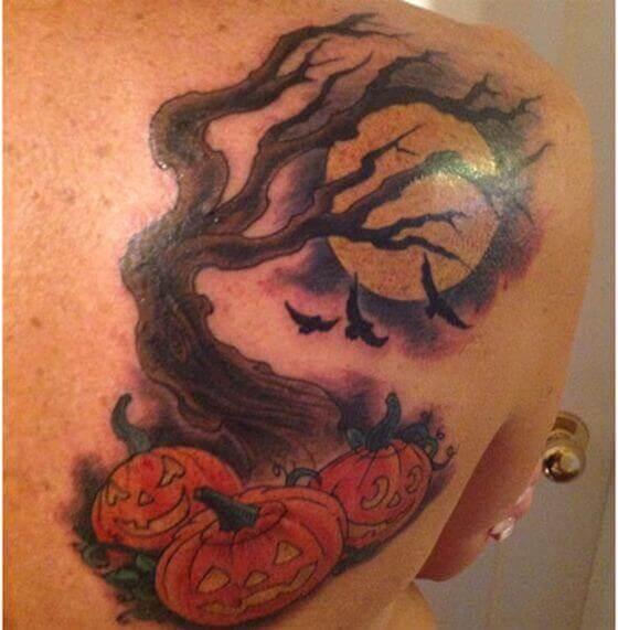Halloween Night Tattoos