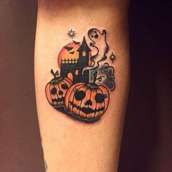 Halloween tattoo 2020