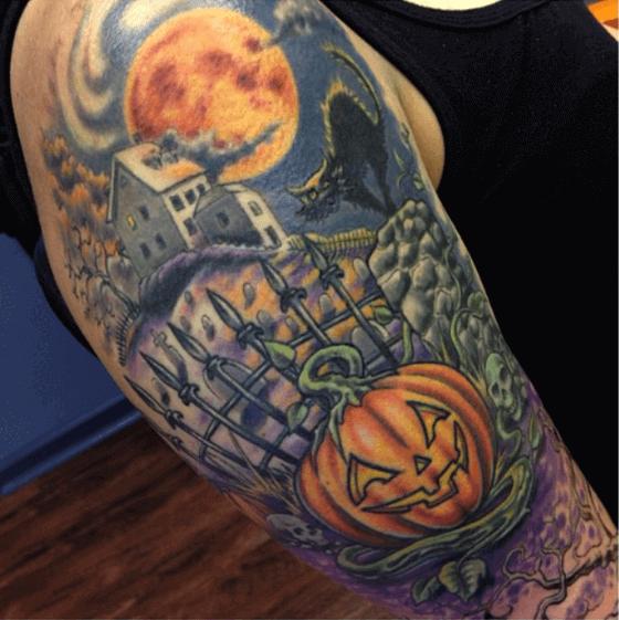 Horror Halloween Tattoo ideas 2020