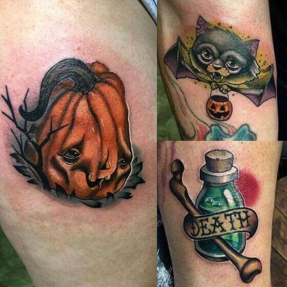 Scary tattoo 2020