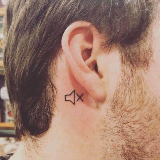 Silent Volume tattoo