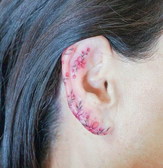 trending Ear tattoo Ideas in 2021