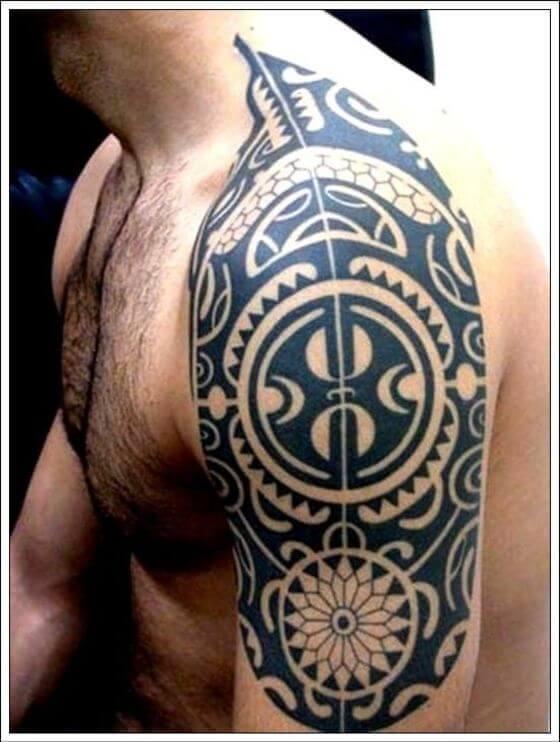 Shoulder Maori Art