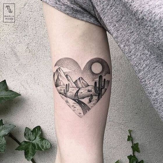 Mountains In The Heart