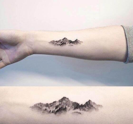 Realistic Mountain Tattoo designs 2021