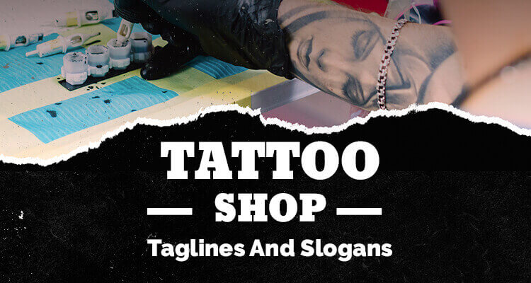 Tattoo Shop Taglines and Slogans image