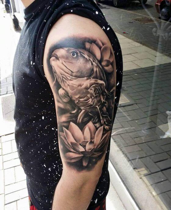 Sleeve Fish Tattoo